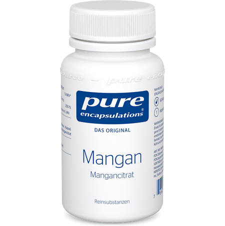 PURE ENCAPSULATIONS Mangan Mangancitrat Kapseln