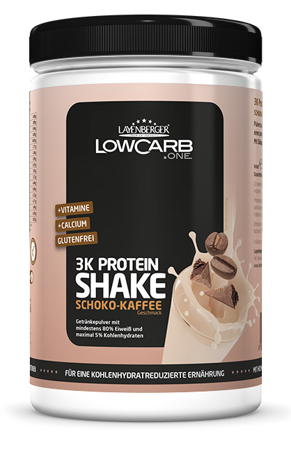 LAYENBERGER LowCarb.one 3K Protein Shake Schoko Kaffee 360g