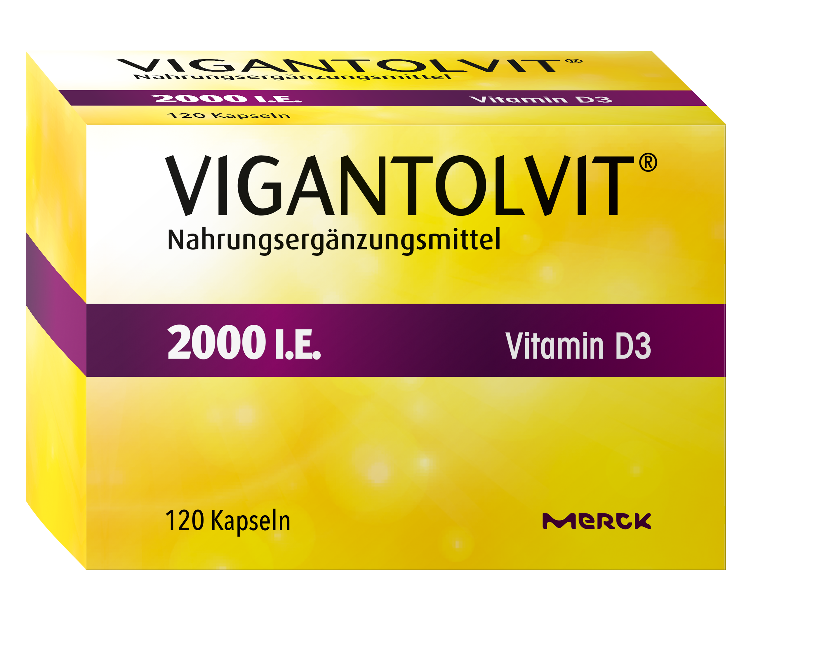 Vigantolvit 2000 I.E. Vitamin D3 Kapseln