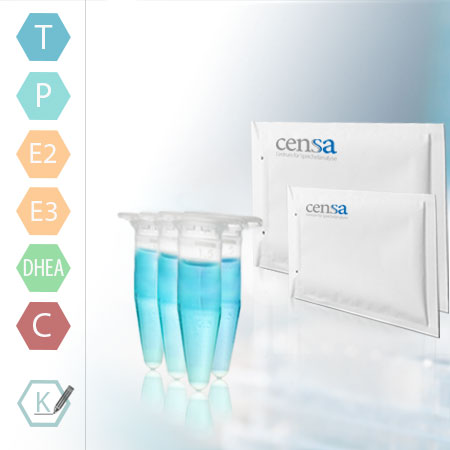 CENSA Speicheltest Paket 3